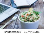 healthy eating for lunch to... | Shutterstock . vector #327448688
