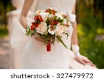 wedding bouquet | Shutterstock . vector #327479972