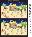 nativity game for children ... | Shutterstock . vector #327483332