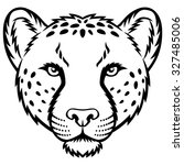 A Cheetah Head Logo. This Is...
