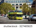 paris  france   august 27  2011 ... | Shutterstock . vector #327485825