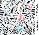 colorful stone  triangles ... | Shutterstock .eps vector #327503426