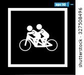 cyclists   Shutterstock .eps vector #327508496