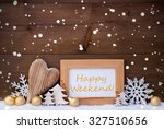 golden christmas decoration on...   Shutterstock . vector #327510656