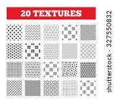 seamless patterns. endless... | Shutterstock .eps vector #327550832