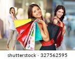 shopping. | Shutterstock . vector #327562595