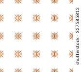halloween orange and brown... | Shutterstock .eps vector #327585812