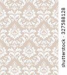damask seamless pattern...   Shutterstock . vector #327588128