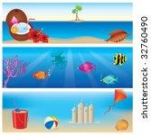 summer banners | Shutterstock .eps vector #32760490