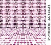 purple dot empty perspective... | Shutterstock . vector #327638156