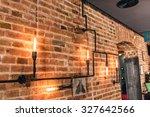 Restaurant Rustic Walls ...