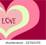love card   Shutterstock .eps vector #32765155