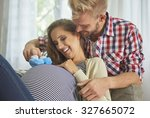 we can't wait to welcome our... | Shutterstock . vector #327665072