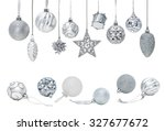 Silver Christmas New Year...