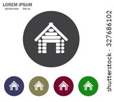 home icon | Shutterstock .eps vector #327686102