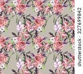 watercolor seamless pattern... | Shutterstock . vector #327699842