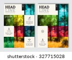 business brochure design... | Shutterstock .eps vector #327715028