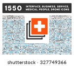 medical documents and other web ... | Shutterstock .eps vector #327749366