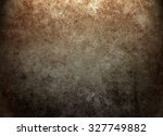 old brown texture background.... | Shutterstock . vector #327749882