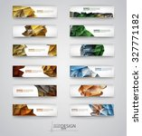 color banners set with... | Shutterstock .eps vector #327771182