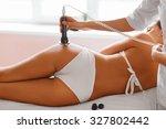 body care. ultrasound... | Shutterstock . vector #327802442