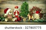 Christmas Decoration. Vintage...