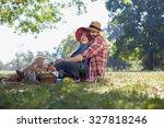 healthy vegetarian or vegan... | Shutterstock . vector #327818246