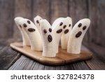 Homemade Halloween Scary Banan...