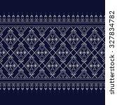 geometric ethnic pattern design ... | Shutterstock .eps vector #327834782