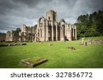 Fountains abbey  north...