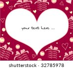love card design   Shutterstock .eps vector #32785978