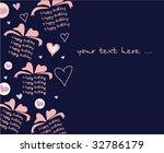 congratulatory card   Shutterstock .eps vector #32786179