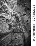 rocky coast of lake baikal.... | Shutterstock . vector #327882116