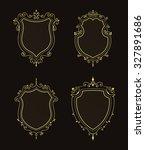 luxury premium stylish... | Shutterstock . vector #327891686