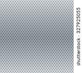 Silver Metallic Round Grid...