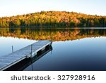 Fall Evening On Pickett Lake ...