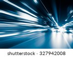 abstract speed motion in... | Shutterstock . vector #327942008