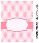 Pink Argyle   Harlequin...