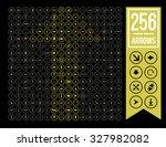 arrow setarrow set icon. simple ... | Shutterstock .eps vector #327982082
