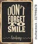 """retro metal sign """"don't forget... 