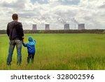 pollution. environmental... | Shutterstock . vector #328002596