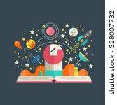 space exploration concept  ... | Shutterstock .eps vector #328007732