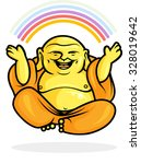 Buddhist Monk In Meditation...