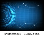 abstract future digital science ... | Shutterstock .eps vector #328025456