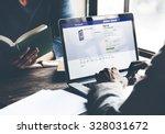 bangkok  thailand   october 14  ...   Shutterstock . vector #328031672