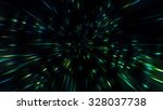 particle zoom or space high... | Shutterstock . vector #328037738