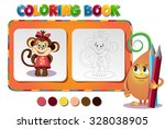 choose the color of the figure. ... | Shutterstock .eps vector #328038905