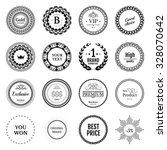 collection black labels for... | Shutterstock .eps vector #328070642