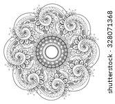 vector beautiful deco... | Shutterstock .eps vector #328071368