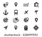 navigation simply symbol for... | Shutterstock .eps vector #328099592